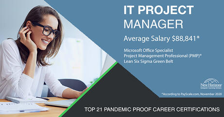 Top 21 Pandemic Proof Career - IT Project Manager