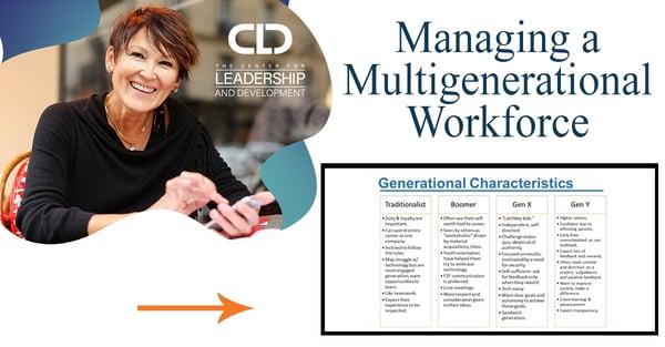 CLD x Managing a Multigenerational Workforce
