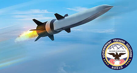 A Raytheon Hypesonic Missile Rendering