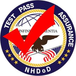NHDoD Test Pass Assurance Logo