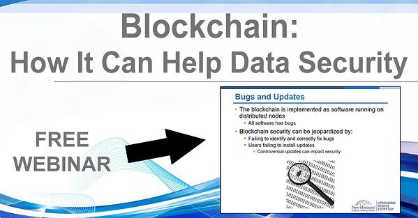 NHLG x Blockchain Data Security Youtube Image