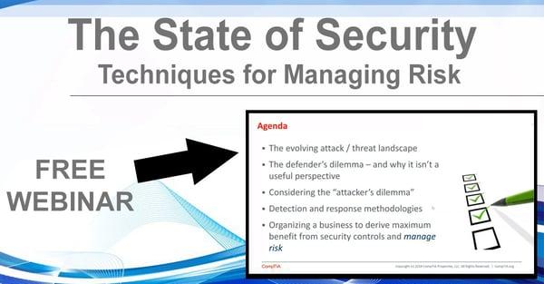 NHLG x CompTIA Security Risk Management Youtube Image