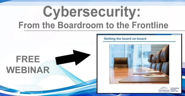 NHLG x Cybersecurity Boardroom Frontline Youtube Image
