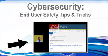NHLG x Cybersecurity End User Safety Tips Tricks Youtube Image