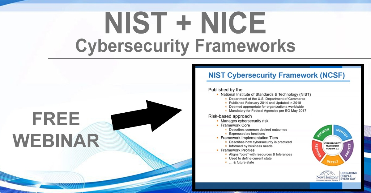 NHLG x NIST NICE Cybersecurity Frameworks Youtube Image