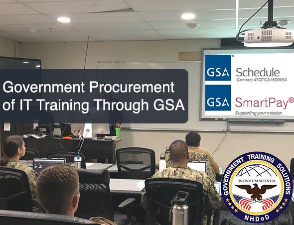 Government Procurement of IT Training Through GSA